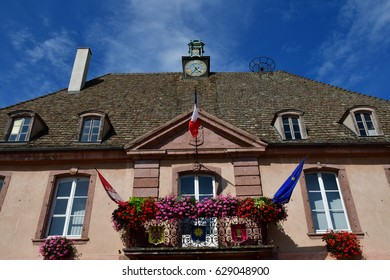 Neuf Brisach, France - july 23 2016 : the city hall