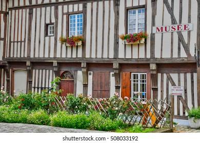 Neufchatel en Bray, France - june 23 2016 : the Mathon Durand museum