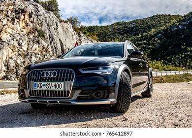 Neum, Bosnia and Herzegovina, October 2017 - Audi A6 Allroad