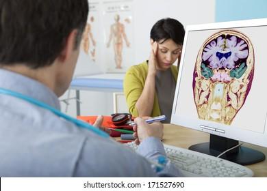 Neurology Consultation Woman