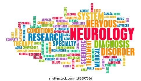 Neurology or Neurologist Medical Field Specialty As Art