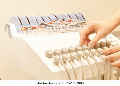 neurostimulation massage equipment. myostimulation health device. Fat slim technology. electrostimulation anti cellulite machine.