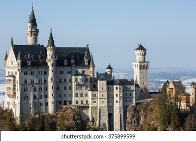 Neuschwanstein Castle. Bavaria. Germany.