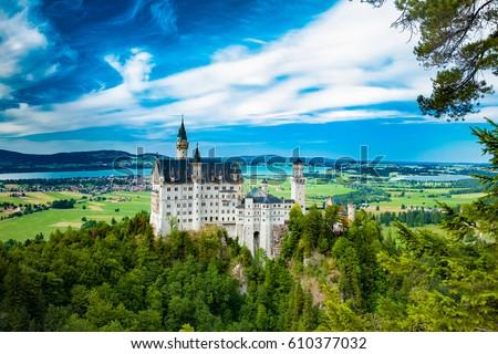 Neuschwanstein castle One of