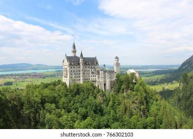 Neuschwanstein Castle in pussen