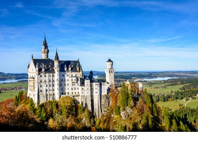 Neuschwanstein Castle (Schloss) is one of a world famous castles