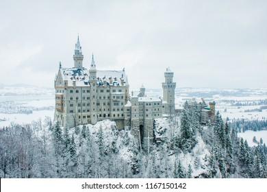 Neuschwanstein Winter Germany