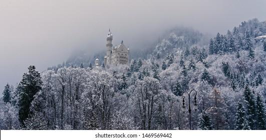 Neuschwanstein - world's most fairytale  castle. Walt Disney copied this to create Disney World.