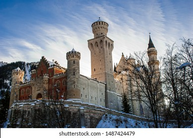 Neuschwanstine Castle. Tucked away in the Bavarian alps, this classic structure was the creative inspiration for Walt Disney's Magic Kingdom.