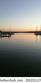 Neusiedlersee sunst this summer. See-time with my fam