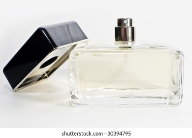 Neutral perfume bottle.