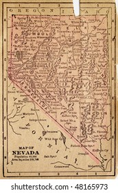 Nevada, circa 1880. See the entire map collection: http://www.shutterstock.com/sets/22217-maps.html?rid=70583
