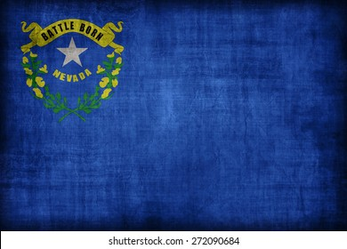 Nevada flag pattern, retro vintage style