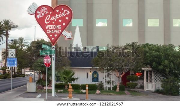 Nevada Usa 08032015 Cupids Wedding Chapel Stock Photo Edit