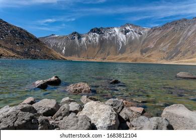 Nevado de Toluca lake hoya
