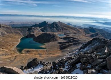 Nevado de Toluca View from summit