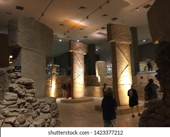 'Nevali Cori' Excavation Site Model/Sanliurfa Archeology and Mosaic Museum/Sanliurfa,TURKEY 06.06.2019