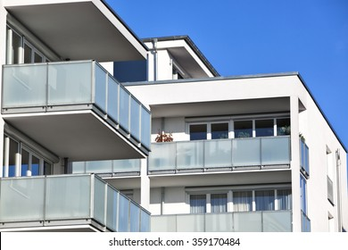New apartment with balconies