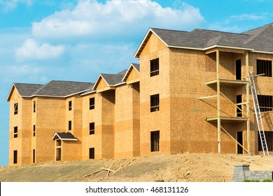 New apartment building construction.