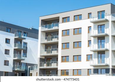 new apartments building