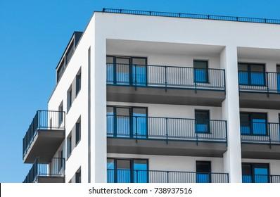 New apartments building development