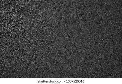 New asphalt texture, top view .