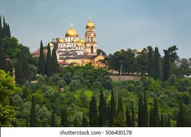 New Athos,Abkhazia/Monastery of St. Simon the Canaanite