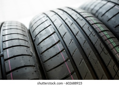 New automobile tire for use on passenger cars of small and middle class.