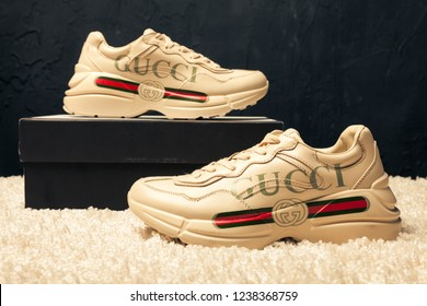Gucci Sneakers Images, Stock Photos