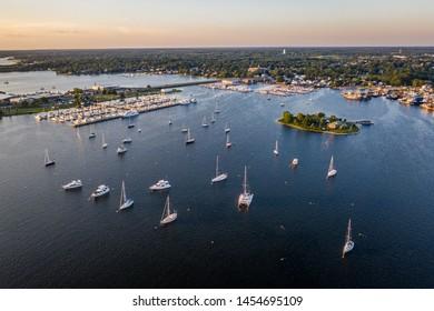 New Bedford Harbor Popes Island