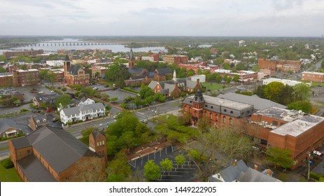 New Bern North Carolina is situated on the Neuse River and was the states first capital