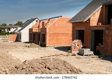 new brick building
