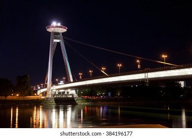 New Bridge  in Bratislava.