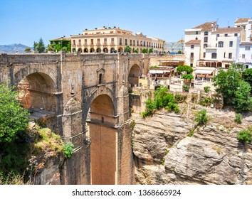 New bridge (Puente Nuevo) in Ronda, Andalusia, Spain