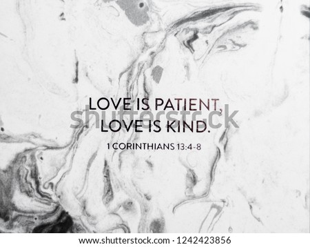 New Bright Modern Marble Background Texture Black And White Contrast With Encouraging Uplifting Bible Verse Text