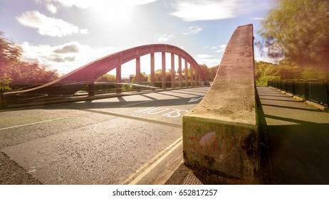 New Brislington Bridge A Bristol England Long Exposure Motion Blur