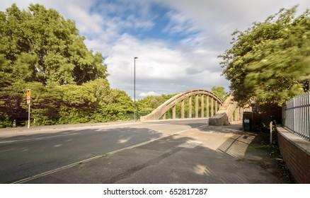 New Brislington Bridge C Bristol England Long Exposure Motion Blur