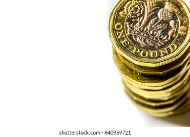 New British One Pound Sterling Coin Chart Rate
