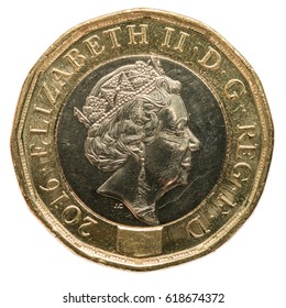 New British Pound Coin (2017 design)
