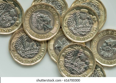 New British Pound Coins (2017 design)