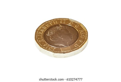New British Sterling One Pound Coin (£1 GBP)