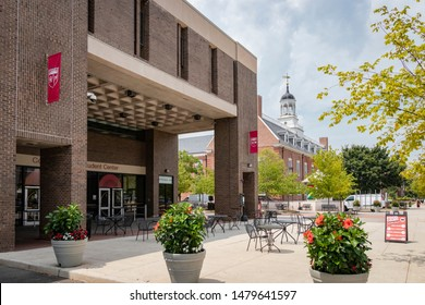 New Brunswick, NJ - August 8, 2019: College Avenue Student Center, on the campus of Rutgers University