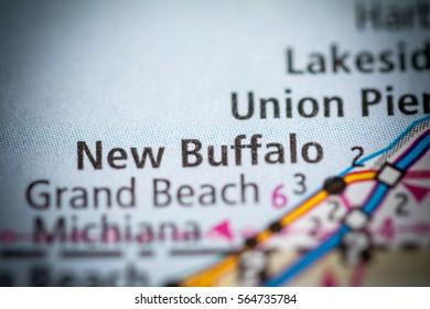 New Buffalo. Michigan. USA
