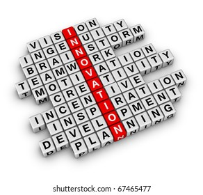 New Business Innovation (cubes crossword series)