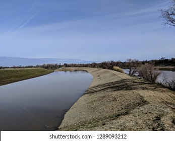 new California levee for flood protection