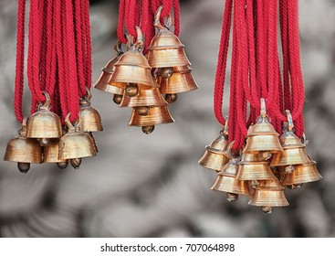 New camels bells for for sale at the open market. India