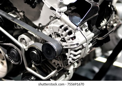 New car generator generator from a car engine.