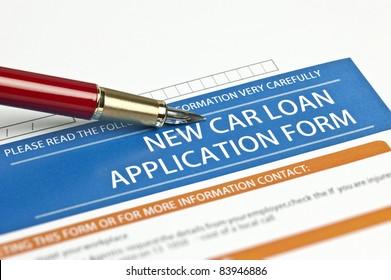 New Car Loan Application