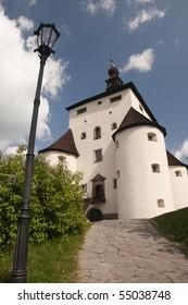 The New Castle of Banska Stiavnica town, Slovakia