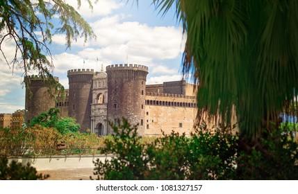 New castle. Naples, Italy.